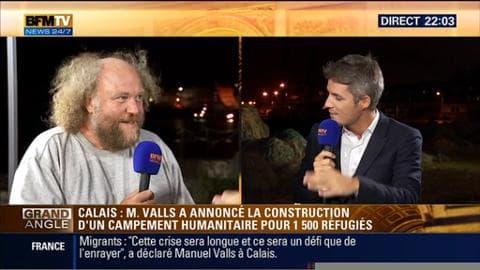"""Edition spéciale Calais: """"Le gouvernement essaie de saturer l'espace médiatique"""", Philippe Wannesson"""
