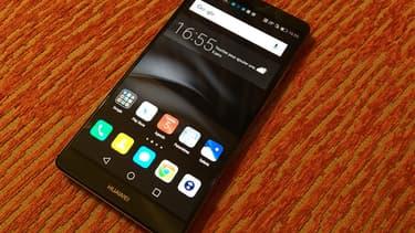 Le smartphone Mate 8 de Huawei