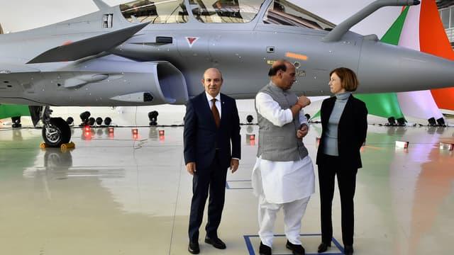 Les livraisons d'avions de combat Rafale de Dassault Aviation, à destination de trois pays (Egypte, Inde, Qatar) ont représenté près d'un quart des exportations d'armes totales de l'hexagone.