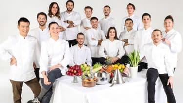 """Les candidats de """"Top Chef"""", saison 12."""