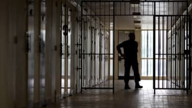 Prison (PHOTO D'ILLUSTRATION) - Kenzo Tribouillard - AFP