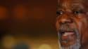 """Kofi Annan s'est déclaré """"horrifié"""" par la tuerie d'Houla, lundi à son arrivée à Damas. L'émissaire spécial des Nations unies et de la Ligue arabe en Syrie, qui doit rencontrer mardi le président Bachar al Assad, compte demander au régime syrien de manife"""