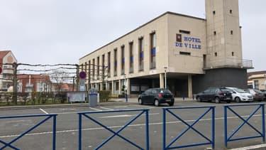 Hotel de ville d'Outreau.