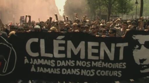 Clément Méric, militant d'extrême gauche, tombé sous les coups mercredi de skinheads d'extrême droite.