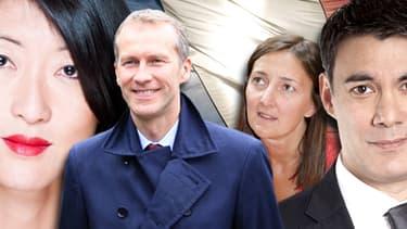 Fleur Pellerin, Guillaume Garot, Karine Berger et Olivier Faure ont tous eu un rôle dans la campagne du candidat Hollande.