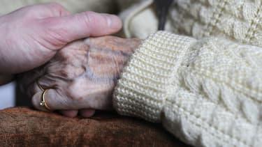 Des personnes âgées - Image d'illustration