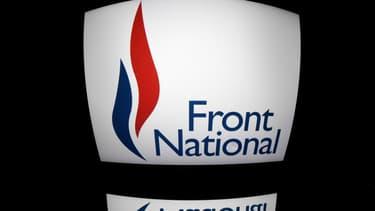 Le logo du Front national.