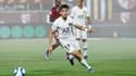 Adil Aouchiche pour sa première en Ligue 1 avec le PSG