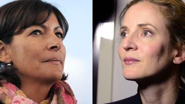 Anne Hidalgo et Nathalie Kosciusko-Morizet.