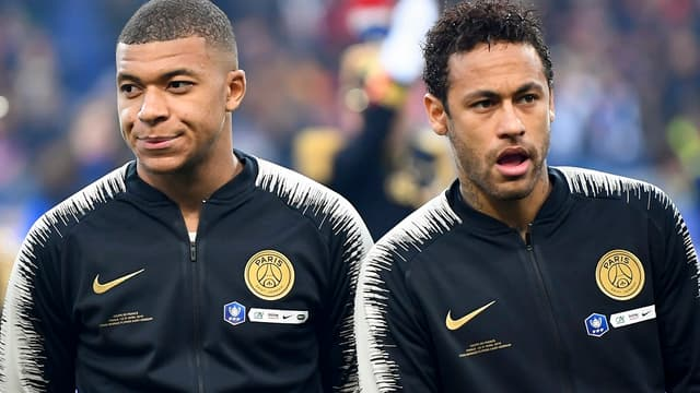 Mbappé et Neymar