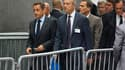 Nicolas Sarkozy, ici à son arrivée aux Nations Unies, a exhorté mardi à New York les protagonistes du conflit au Proche-Orient à sortir de l'impasse le processus de paix israélo-palestinien, pour ne pas entraver l'évolution des pays arabes vers la démocra