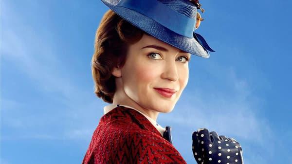 """Emily Blunt dans """"Le retour de Mary Poppins"""""""