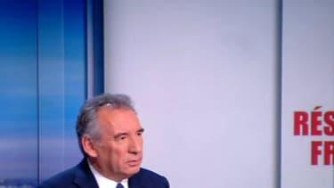 François Bayrou sur le plateau de TF1