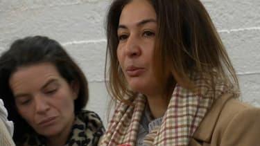 Doria Chouviat, la veuve de Cédric Chouviat, mort dimanche lors d'une interpellation à Paris