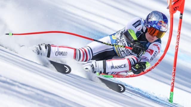 Le skieur français Alexis Pinturault lors du combiné des Mondiaux 2021 à Cortina (Italie)