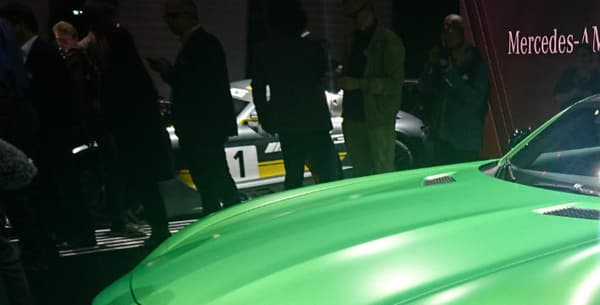 L'AMG GT R sera elle bien au Mondial