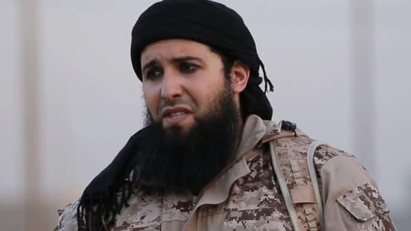 Le jihadiste Rachid Kassim, dans une vidéo de propagande de Daesh, en septembre 2016.