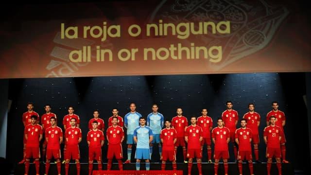 Le nouveau maillot de l'Espagne