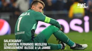 Galatasaray: Le gardien Muslera sérieusement blessé à la jambe