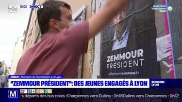 """""""Zemmour Président"""" : des jeunes engagés à Lyon"""