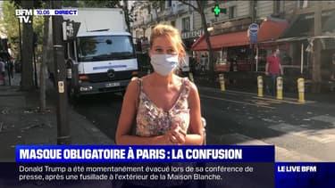 Masque obligatoire à Paris : la confusion - 11/08