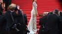 """L'actrice américaine Eva Longoria lors de la montée des marches du film """"Inside Out"""""""