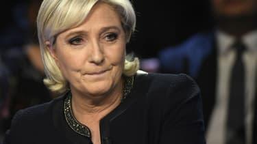 La cheffe du Rassemblement national Marine Le Pen