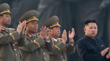 Le leader nord-coréen Kim Jong-Un, le 13 avril dernier.