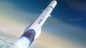 Blue Origin développe actuellement la fusée réutilisable New Glenn, pour les années 2020.