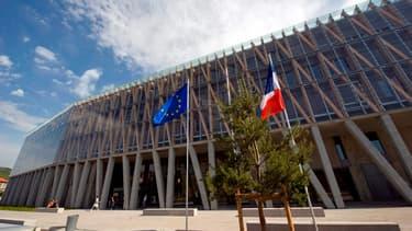 Le nombre de régions (ici le conseil régional d'Auvergne) devrait passer de 22 à 12 ou 15