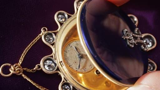 Une montre Breguet, marque aujourd'hui détenue par Swatch Group, ayant appartenu à Joséphine Bonaparte.