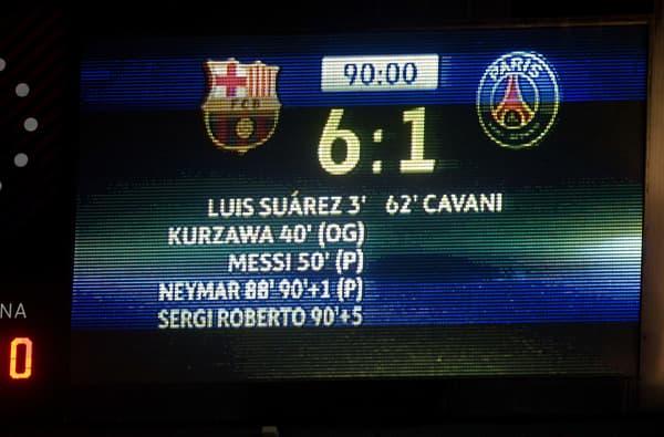 Barcelone-PSG en 2017