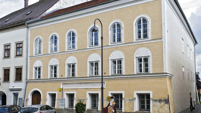 La maison de naissance d'Hitler, en 2012.