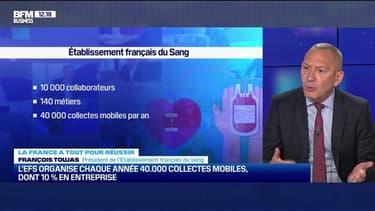 La France a tout pour réussir : L'EFS a le monopole de la collecte du sang et revend les produits au strict prix de revient - 15/05