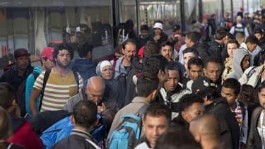Des réfugiés, septembre 2015
