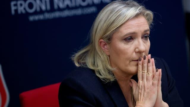 Marine Le Pen a démis deux responsables régionaux Front national. (Photo d'illustration)