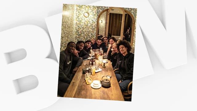 Madonna entourée de célébrités françaises lors d'un dîner chez Jean Imbert