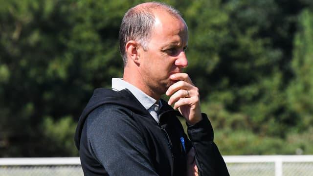 L'entraîneur français Stéphane Le Mignan, le 18 juillet 2020