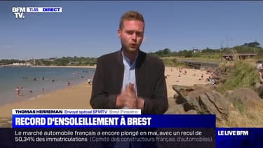 Record d'ensoleillement à Brest - 01/06