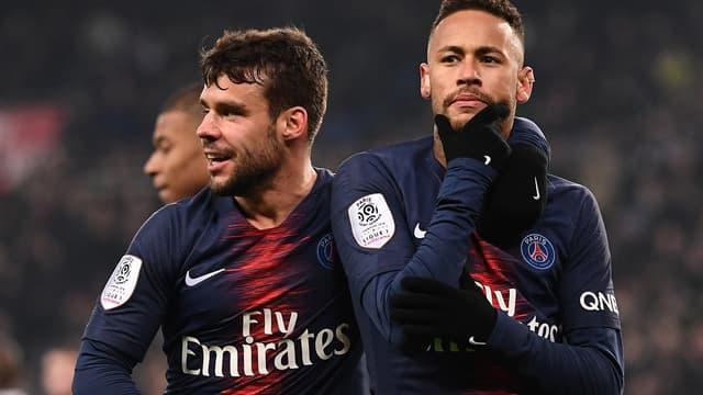Bernat & Neymar (PSG)