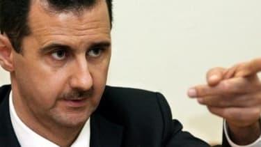Le président syrien Bachar al-Assad fait parti des points de tensions à la résolution du conlit en Syrie