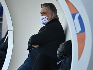 Laurent Nicollin, à Montpellier le 6 mars 2021