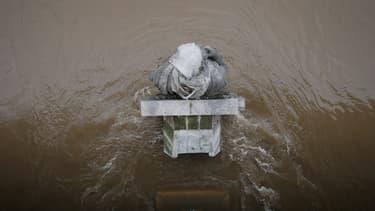 A la station d'Austerlitz contrôlée par Vigicrues, le niveau de la Seine était de 3,11 mètres ce jeudi, contre 2,60 à la même heure mercredi (photo d'illustration)