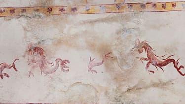 La salle de la Domus Aurea a été découverte lors de travaux de restauration.