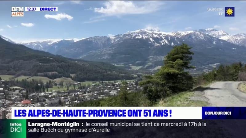 Les Alpes-de-Haute-Provence ont 51 ans