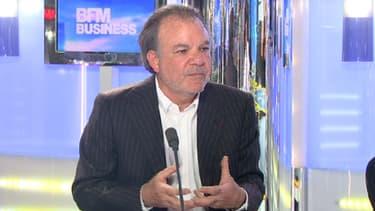 Le PDG de Nexity Alain Dini sur le plateau de Good Morning Business ce 21 mars.