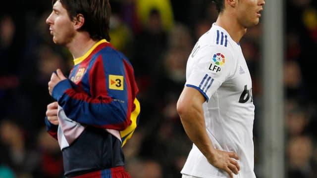 Lionel Messi et Cristiano Ronaldo