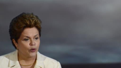 Dilma Rousseff, la présidente brésilienne, est en visite de deux jours à Paris