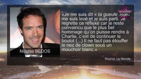 Charlie Hebdo : Nicolas Bedos raconte son « malaise » chez Ruquier