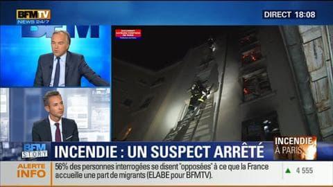 Incendie de la rue Myrha: un suspect a été arrêté